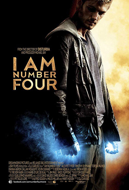 I Am Number Four Movie Cast by Greg Apps Casting Director