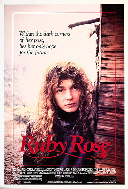 The Tale of Ruby Rose Movie Cast by Greg Apps Casting Director