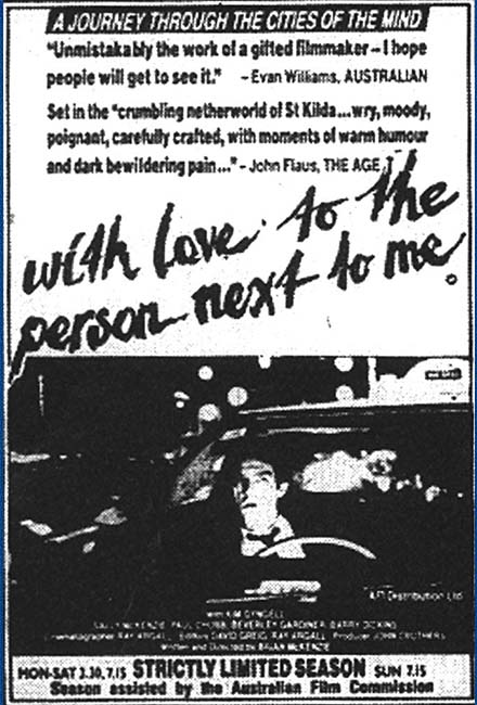 With Love to the Person Next to Me Cast by Greg Apps Casting Director