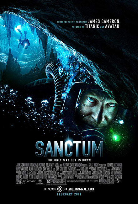 Sanctum cast by Greg Apps casting director